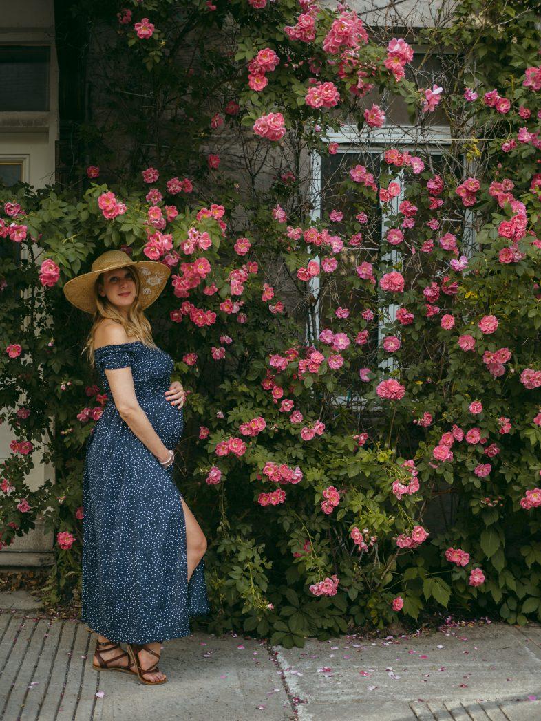 séance photo maternité, montréal, grossesse, enceinte, pregnant, fleur
