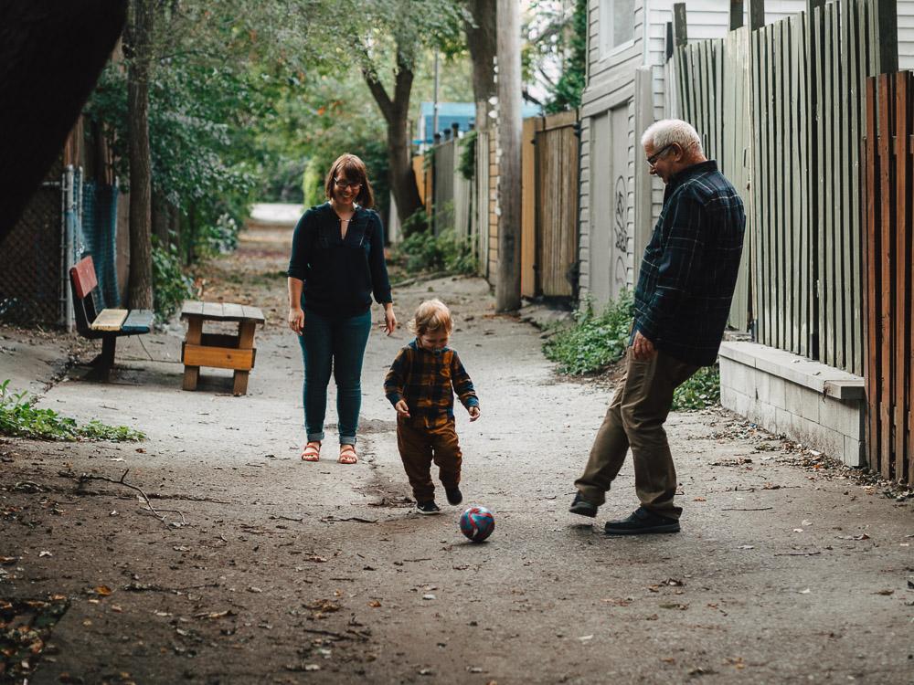 montreal seance photo famille plateau